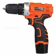 PEAKMETER 12V Compact Cordless Lithium-Ion Drill Driver Kit