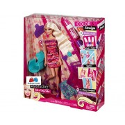 GRAPPLE DEALS HAIR-TASTIC COLOUR & DESIGN SALON DOLL With ACCESSORIES FOR KID.(Multicolor) (Barbie)
