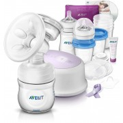 Комплект за кърмене Philips AVENT Natural Breastfeeding Support Kit SCD 292