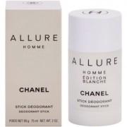 Chanel Allure Homme Édition Blanche desodorante en barra para hombre 75 ml