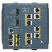 Cisco IE 3000 Switch, 8 10/100 + 2 T/SFP