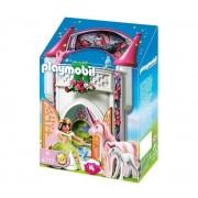 Playmobil 4777 - Donjon De La Licorne Transportable