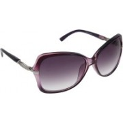 Vast Over-sized Sunglasses(Violet)