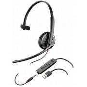Casca Call Center Plantronics BLACKWIRE 315.1, USB, Jack 3.5 mm, Monoaural (Negru)