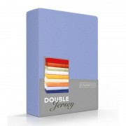 Romanette Luxe Dubbel Jersey Hoeslaken - Lavendel 180 x 200/210/220 cm