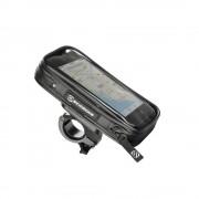 Suport bicicleta rezistent la apa pentru smartphone handleIT pro (Negru)