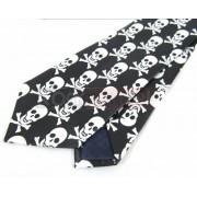 Krawat - CZASZKI Z PISZCZELAMI (K-5)