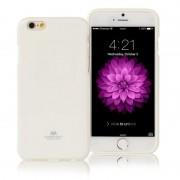 Phone Case, Mercury Goospery Jelly Case, силиконов калъф за iPhone 6, бял (21346)