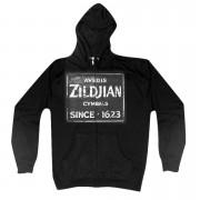 Zildjian Quincy Vintage Sign T4641 Zip Hoodie S Hood
