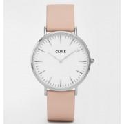 Дамски часовник CLUSE CL18231 La Bohème White/Nude
