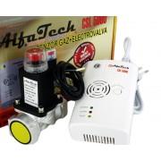 Detector de gaze cu electrovalva AlfaTech CSL5000 3 4