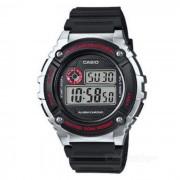 Reloj digital del deporte de la alarma del casio W-216H-1CVDF (sin la caja)