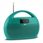 Trevi KB 308 BT Radio Digital Boombox Bluetooth USB microSD grün
