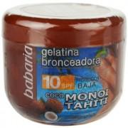 Babaria Sun Bronceador gel con color con coco SPF 10 200 ml