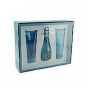 Davidoff Cool Water Woman 30 ml EDT + 50 ml SG + 50 ml BL Dámská dárková sada