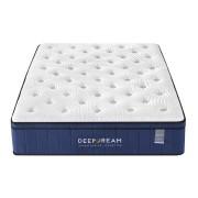 Sleep Happy Premium Eurotop 5 Zoned Cool Gel Memory Foam Mattress 34cm - Double