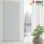 FIRST Heating WIST Elegant NG (Leistung/Grösse: 1300 W / 150 cm x 60 cm, Farbe: Matt Weiss)