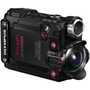Camera Video de Actiune Olympus TOUGH TG-Tracker, 7.2 MP, Filmare 4K, Waterproof, Wi-Fi, GPS, Rezistente la socuri (Negru)