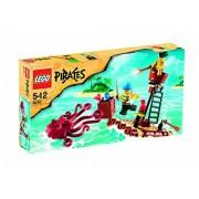 """Lego (LEGO) Pirates Obaku Dako """"Kraken"""" raid 6240"""