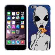 Husa iPhone 6S iPhone 6 Silicon Gel Tpu Model Alien Pizza