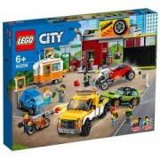 Конструктор Лего Сити - Сервиз за тунинг, LEGO City Nitro Wheels 60258