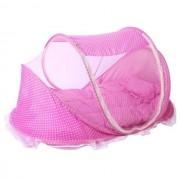 Mama Kiddies utazó babaágy pink színben