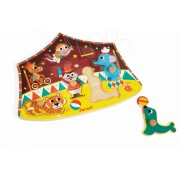 Janod puzzle din lemn Star Circus cu 6 piese 07060