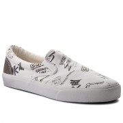 Гуменки PEPE JEANS - Harry Slip On PMS30424 White 800