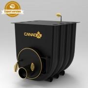 Печка на дърва Canada 00 classic за огрев и готвене, 50л