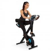 Klarfit Azura Plus Vélo d'appartement cardio training max. 100kg - acier noir