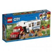 LEGO R City Great Vehicles - Camioneta si rulota 60182