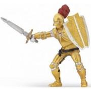 Figurina Papo-Cavaler in armura aurie