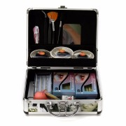 Professional False Extension Eyelash Glue Brush Full Kit Set with Case