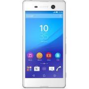 "Telefon Mobil Sony Xperia M5, Procesor Octa-Core 2GHz, IPS LCD Capacitive touchscreen 5"", 3GB RAM, 16GB Flash, 21.2MP, Wi-Fi, 4G, Dual Sim, Android (Alb) + Cartela SIM Orange PrePay, 6 euro credit, 6 GB internet 4G, 2,000 minute nationale si international"