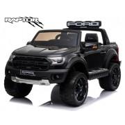 Masinuta electrica cu scaun de piele Ford Ranger Raptor Black