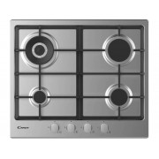 Candy Placa de Gas CANDY CHG 6BR4WX (Gas Natural - 59.5 cm - Inox)
