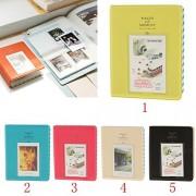 ELECTROPRIME® 2pcs Photo Album Namecard Storage Case Mini Film Book 64 Photos for Instax