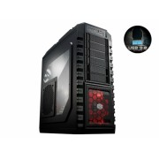 "CARCASA COOLER MASTER HAF. X, mid-tower, ATX, 1* 230mm & 2* 200mm & 1* 140mm fan (inclus), I/O panel, black ""RC-942-KKN1"""