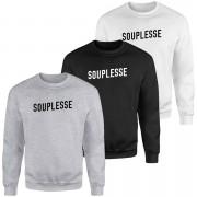 Souplesse Sweatshirt - Black - M - White