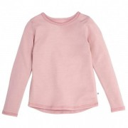 Smalls - Kid's Superfine Merino Long Sleeve Top 18.9 Mic - Sous-vêtement mérinos taille 11/12 Years, rose/beige