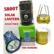 LED Solar Rechargeable Camp Torch Light Flashlights Emergency Lamp In Best Price