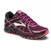 Brooks Adrenaline ASR 14 W - scarpe trail running - donna - Black/Violet