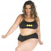 Mini Fantasia Plus Size Bat Girl Pimenta Sexy