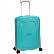 Samsonite S'Cure Spinner 4-Rollen Kabinen-Trolley 55 cm aqua blue