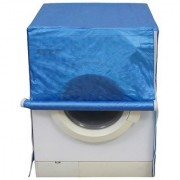 Dream Care Blue Colour with Square Design Washing Machine Cover for Fully Automatic Front Loading LG FH0B8NDL22 6 KG