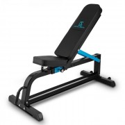 Ad Just Banco Ajustável de Exercício Fitness 300 kg Aço Preto