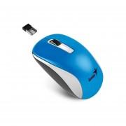 Mouse Inalámbrico Genius NX-7010-Azul con Blanco