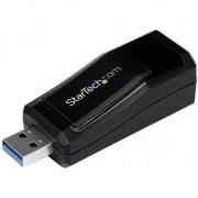Placa de retea startech USB 3.0 na Gigabit Ethernet (RJ45) (USB31000NDS)