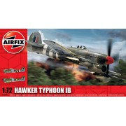 Airfix A02041 Hawker Typhoon Building Kit, 1:72 Scale