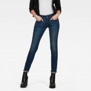 G-star RAW Femmes Midge Cody Mid Waist Skinny Jeans Bleu moyen